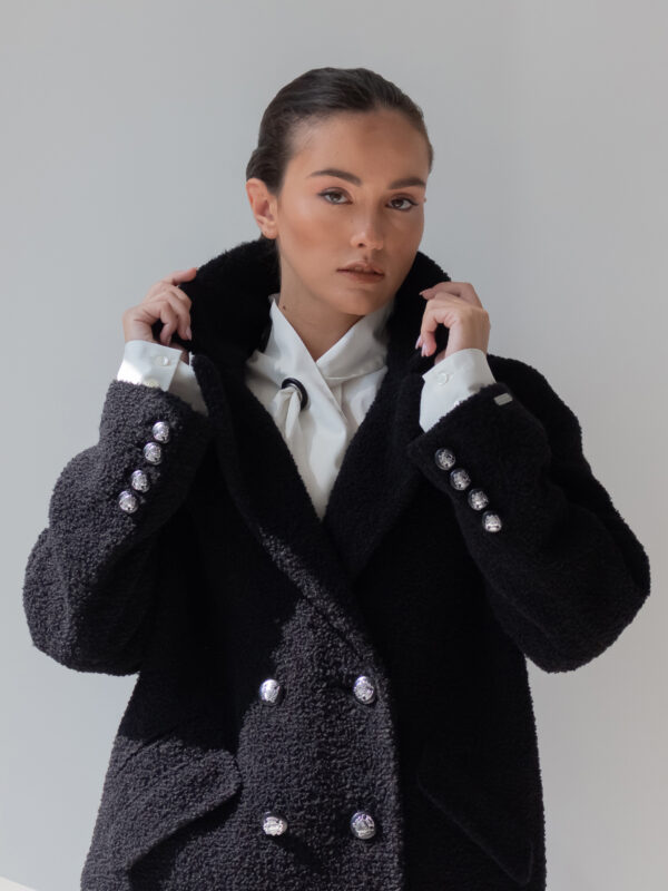 Nenette | Double-breasted style coat