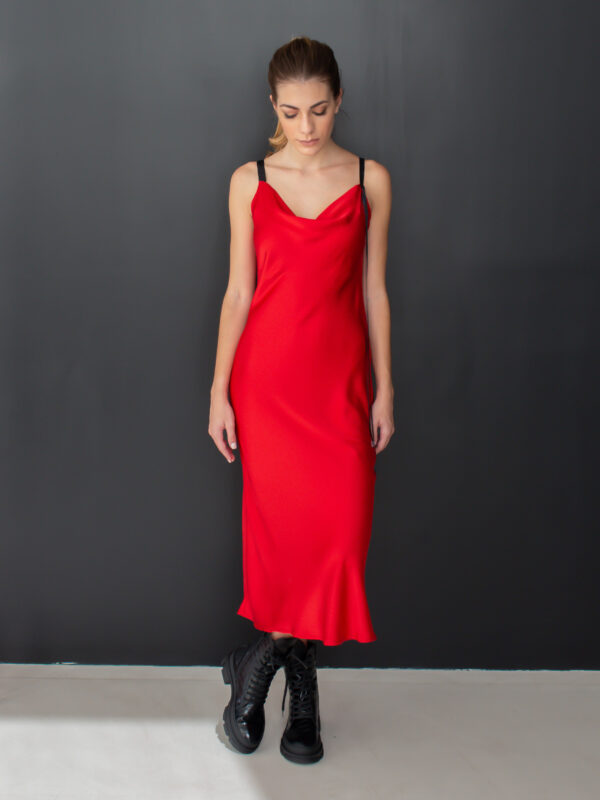 Sotris collection | Red slip dress