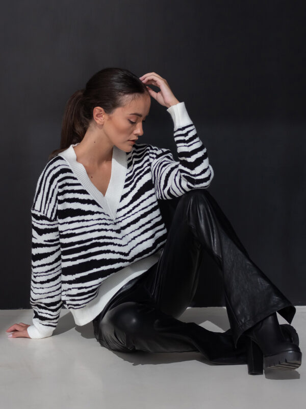 Sotris collection | Zebra sweater