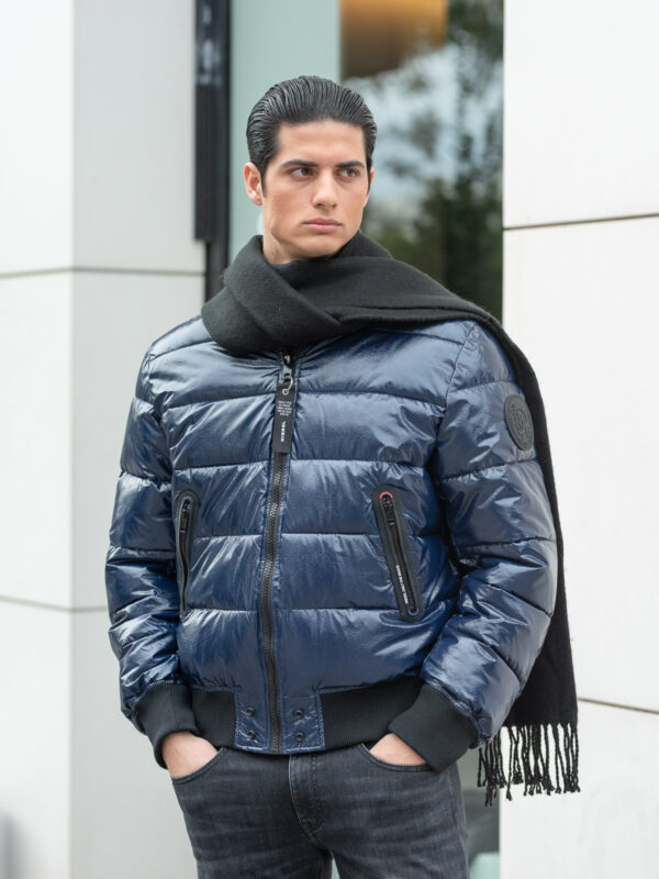 Diesel | Quilted puffer bomber jacket