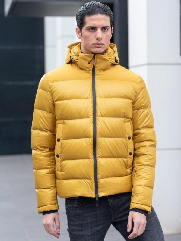 AT.P.CO. | Yellow puffer jacket