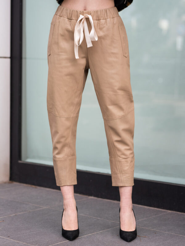 Psophia | Leather trousers