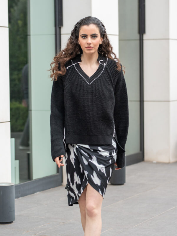 Circus Hotel   Ribbed-knit sweater
