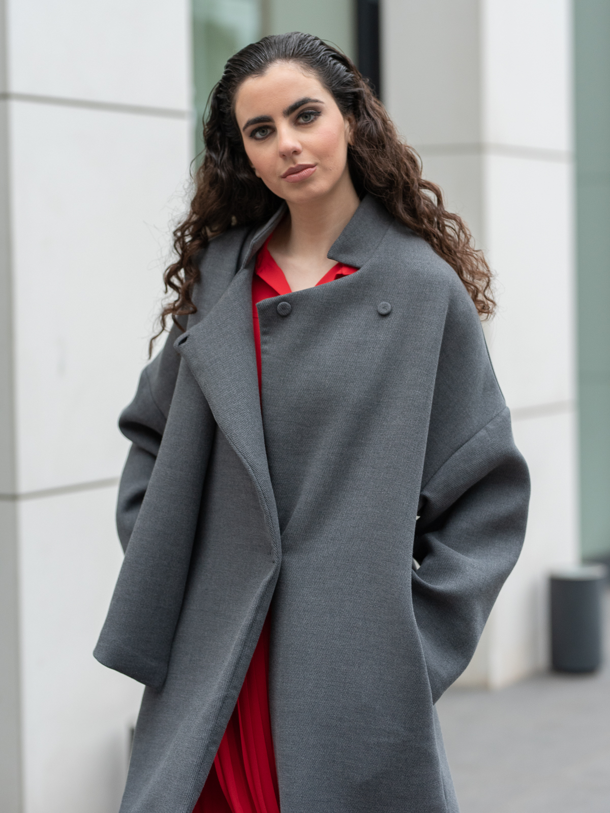 Sotris collection | Grey coat
