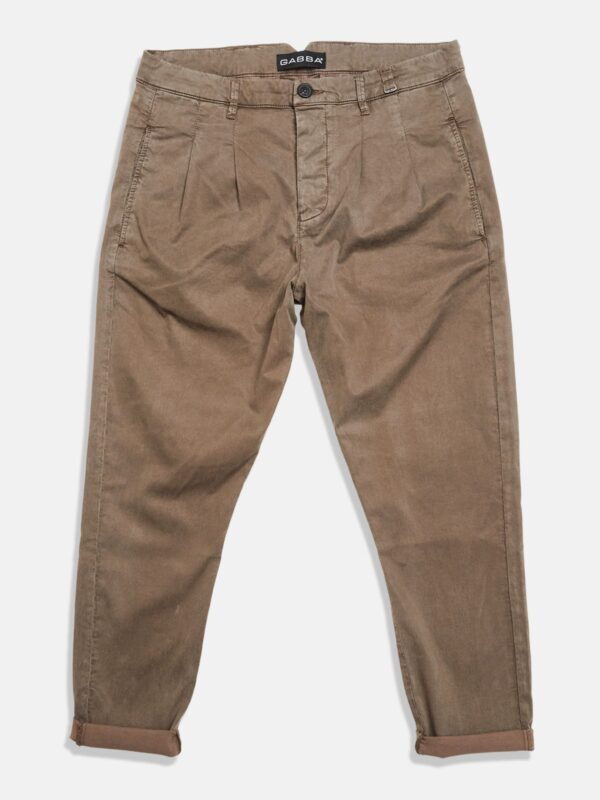Gabba | Rolled-cuff chino trousers