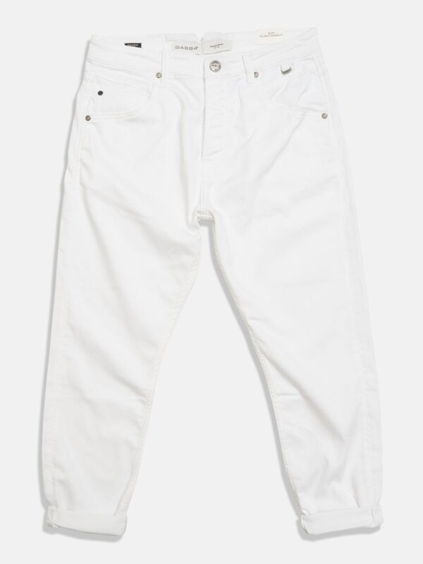 Gabba | White tapered jeans