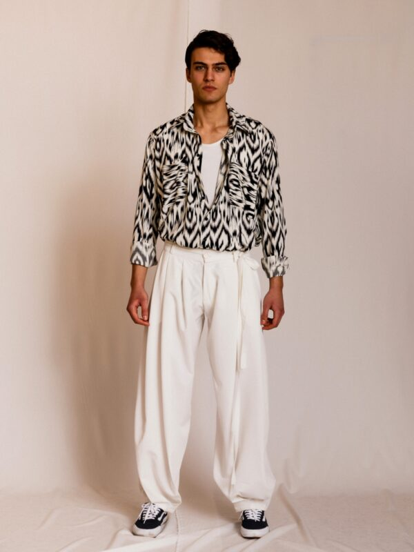Dante | Printed shirt with chest pockets