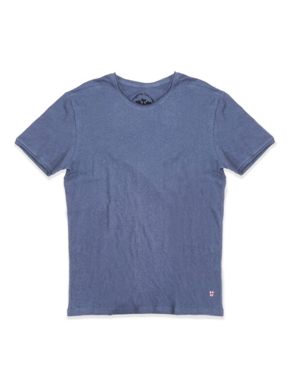 Blue de genes | Raw-edge crewneck t-shirt