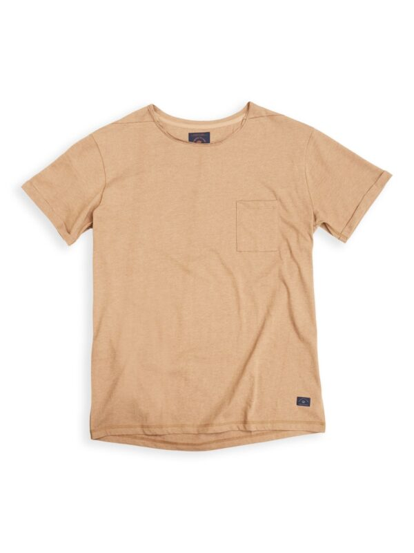 Blue de genes | Chest-pocket roll-up t-shirt