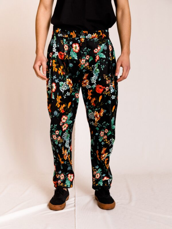 Dante | Floral carrot trousers