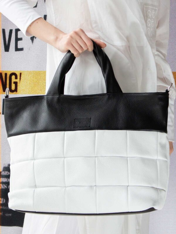 Sotris collection | Quilted leather handbag
