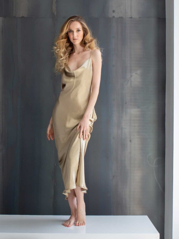 Sotris collection | String tie back maxi dress