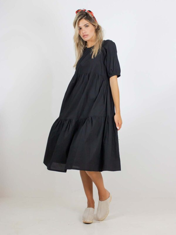 Sotris collection | Tiered trapeze dress
