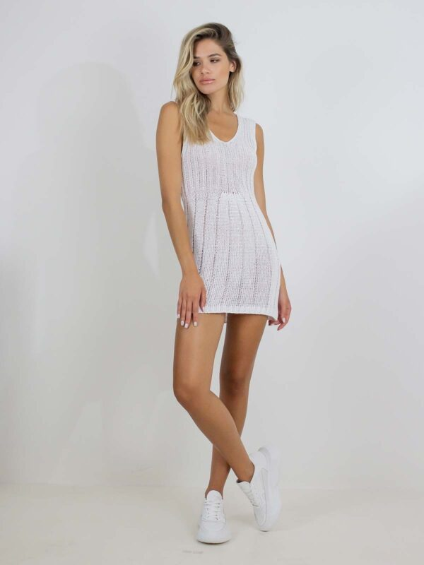 Sotris collection | Ribbed-knit mini dress