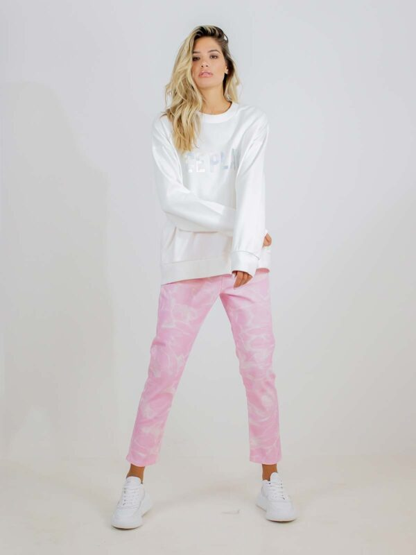 Ice Play | Pink tie-dye jeans