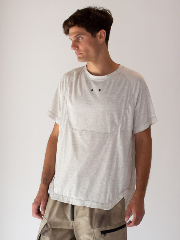 Gall | Exposed-seam boat neck t-shirt