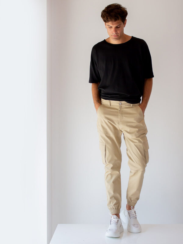 Ice Play | Tapered cargo trousers