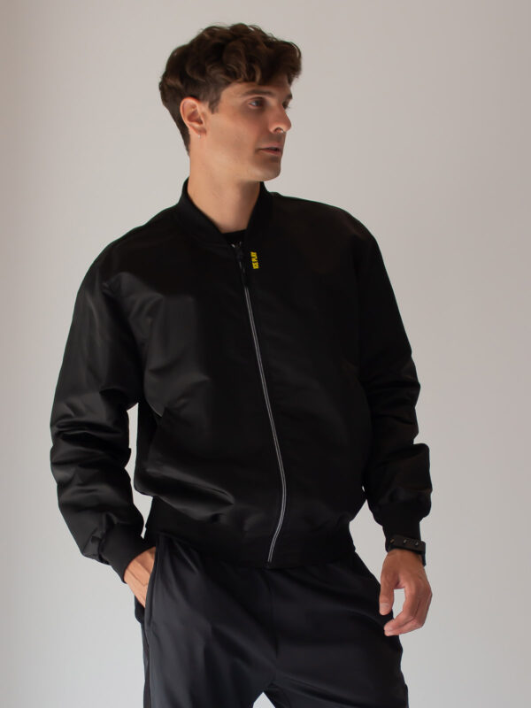 Ice Play | Bomber jacket with back print