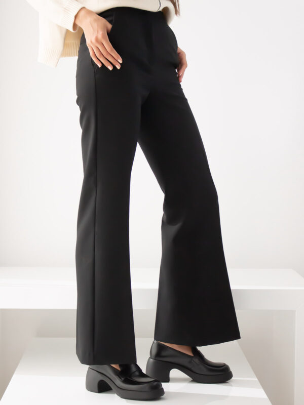 Beatrice | Pleated flared trousers