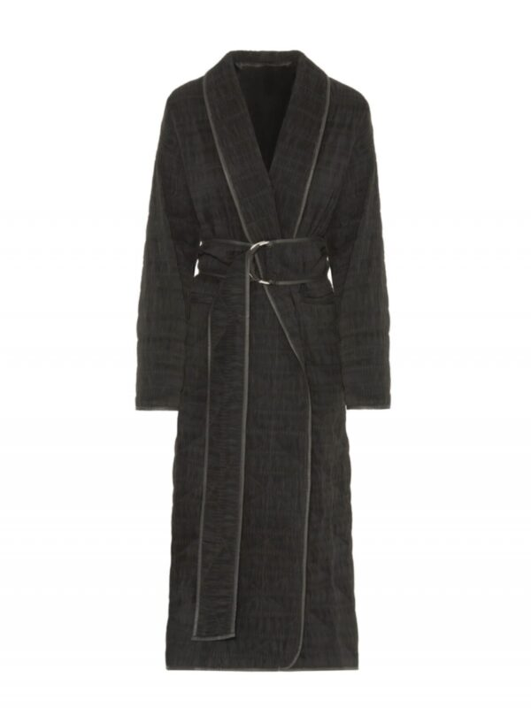 Beatrice | Quilted crinkle coat