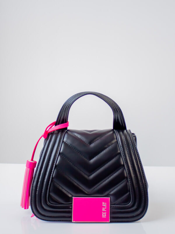 Ice Play | Top handle bag with contrast detail