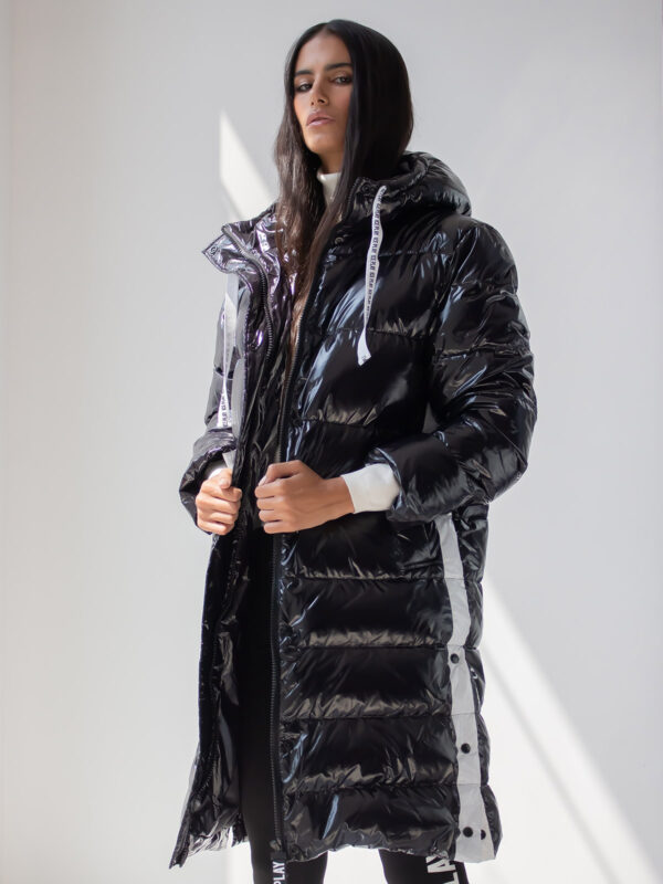 Ice Play | Long puffer jacket
