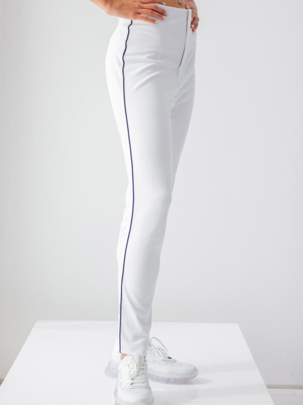 Ice Play | Contrast binding trousers