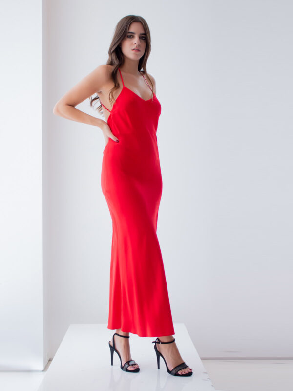 Sotris collection | Cross back maxi dress